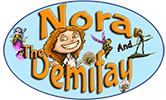 Nora and The Demifay Logo